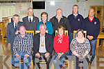 The CMWS of Ireland committee who held the annual meeting at the Killorglin CYMS 60th anniversary celebrations on Saturday front row l-r: ken Butterworth Fermoy, Eamon Hennessy National President, Ester Brady Kildare, Betty Brady Ringsend. Back row: Brendan Moran Ringsend, Phil Hickey Kildare, Mona Joy Killorglin, Pat Healy Killorglin, Kieran Moroney Limerick and Patrick Greaney Limerick