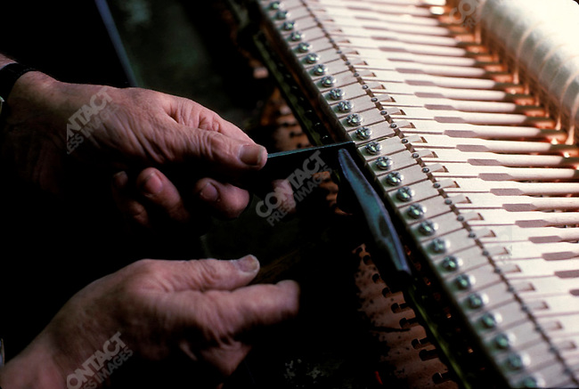 Making of a Steinway