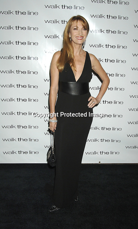 """Jane Seymour ..at The New York Premiere of """"Walk The Line"""" on November 13, 2005 at The Beacon Theatre. ..Photo by Robin Platzer, Twin Images"""