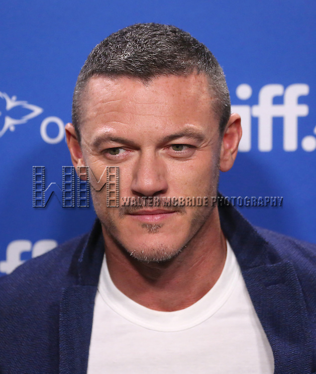 Luke Evans attends the 'High-Rise' photo call during the 2015 Toronto International Film Festival at Roy Thomson Hall on September 14, 2015 in Toronto, Canada.