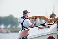SKUTSJESILEN: HEEG: Hegemer Mar, 14-08-2012, IFKS skûtsjesilen, A-klasse, skûtsje It Doarp Eastermar, schipper Geale Tadema, ©foto Martin de Jong