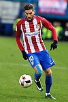 "Atletico de Madrid's  Yannick Ferreira Carrasco  during the match of ""Copa del Rey"" between Atletico de Madrid and Gijuelo CF at Vicente Calderon Stadium in Madrid, Spain. december 20, 2016. (ALTERPHOTOS/Rodrigo Jimenez)"