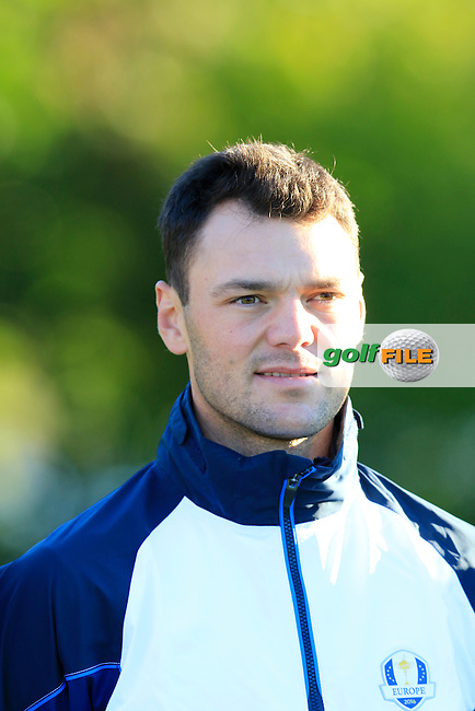 Martin Kaymer (GER) European Team photo shoot during Tuesday's Practice Day of the 41st Ryder Cup held at Hazeltine National Golf Club, Chaska, Minnesota, USA. 27th September 2016.<br /> Picture: Eoin Clarke | Golffile<br /> <br /> <br /> All photos usage must carry mandatory copyright credit (&copy; Golffile | Eoin Clarke)