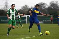 Roddy Lemba of Romford during Romford vs Basildon United, Bostik League Division 1 North Football at Rookery Hill on 24th November 2018