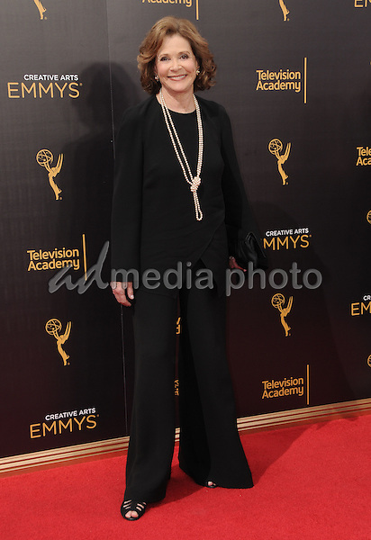 11 September 2016 - Los Angeles, California. Jessica Walter. 2016 Creative Arts Emmy Awards - Day 2 held at Microsoft Theater. Photo Credit: Birdie Thompson/AdMedia