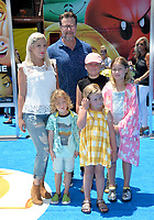 Tori Spelling, Dean McDermott &amp; Family at the world premiere for &quot;The Emoji Movie&quot; at the Regency Village Theatre, Westwood. Los Angeles, USA 23 July  2017<br /> Picture: Paul Smith/Featureflash/SilverHub 0208 004 5359 sales@silverhubmedia.com