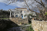 The house that belongs to the neighbours of John and Heather Hatton Thursday 16 February 2017<br /> THIS IMAGE WAS TAKEN FROM THE EDGE OF THE PROPERTY'S DRIVE<br /> Re: John and Heather Hatton, expat couple in Greece who are unable to sell their house in the village of Vamos, Chania, Crete to return to the UK because their neighbour won't pay his taxes.<br /> Heather Hatton needs to return to the UK for urgent medical care.
