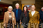 Enjoying the Mary Coughlan  Concert at Siamsa Tire on Friday were Bridie Brassil, Mick Lynch, Mary Lynch and Louise Brassil