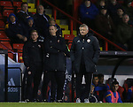 Chris Wilder manager of Sheffield Utd during the English League One match at the Bramall Lane Stadium, Sheffield. Picture date: November 19th, 2016. Pic Simon Bellis/Sportimage