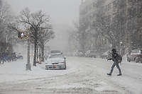 Tempesta di neve a New York  Snow in NY