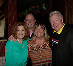 Liz Keifer - Ron Raines - Kim Zimmer - Jerry verDorn - 11th Annual Daytime Stars & Strikes Event for Autism - 2015 on April 19, 2015 hosted by Guiding Light's Jerry ver Dorn (& OLTL) and Liz Keifer at Bowlmor Lanes Times Square, New York City, New York. (Photos by Sue Coflin/Max Photos)