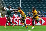 Zimbabwe vs Guyana during their HSBC Sevens Wold Series Qualifier match as part of the Cathay Pacific / HSBC Hong Kong Sevens at the Hong Kong Stadium on 27 March 2015 in Hong Kong, China. Photo by Juan Manuel Serrano / Power Sport Images