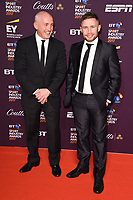 Barry McGuigan &amp; Carl Frampton at the BT Sport Industry Awards 2017 at Battersea Evolution, London, UK. <br /> 27 April  2017<br /> Picture: Steve Vas/Featureflash/SilverHub 0208 004 5359 sales@silverhubmedia.com