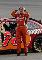 May 4, 2007; Richmond, VA, USA; Nascar Nextel Cup Series driver Kenny Wallace (78) during qualifying for the Jim Stewart 400 at Richmond International Raceway. Mandatory Credit: Mark J. Rebilas
