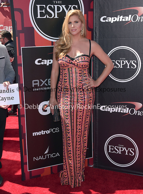 Candis Cayne attends The 2015 ESPY Awards held at The Microsoft Theatre  in Los Angeles, California on July 15,2015                                                                               © 2015 Hollywood Press Agency