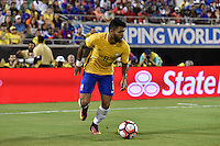 Orlando, FL - Wednesday June 08, 2016:  during a Copa America Centenario Group B match between Brazil (BRA) and Haiti (HAI) at Camping World Stadium.