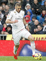 Real Madrid's Karim Benzema during La Liga match.January 31,2015. (ALTERPHOTOS/Acero) /NortePhoto<br /> /NortePhoto.com