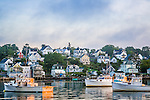 Sunrise at Stonington Harbor, Stonington, ME
