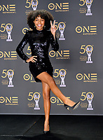 LOS ANGELES, CA. March 30, 2019: Yara Shahidi at the 50th NAACP Image Awards.<br /> Picture: Paul Smith/Featureflash