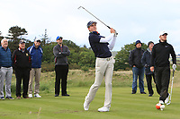 Martin Vorster (RSA) on the 15th tee during Round 4 of The East of Ireland Amateur Open Championship in Co. Louth Golf Club, Baltray on Monday 3rd June 2019.<br /> <br /> Picture:  Thos Caffrey / www.golffile.ie<br /> <br /> All photos usage must carry mandatory copyright credit (© Golffile | Thos Caffrey)