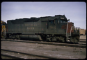 3/4 right front view of SP GP40 #7602<br /> Southern Pacific  Alamosa, CO  Taken by Berkstresser, George - 3/1994