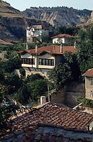 Wiedergeburtshäuser in Melnik, Bulgarien