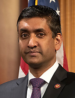 United States Representative Ro Khanna (Democrat of California) listens during a press conference in the US Capitol in Washington, DC announcing a Democratic package of three bills to be introduced in the US Senate and US House to control prescription drug prices on Thursday, January 10, 2019.<br /> Credit: Ron Sachs / CNP /MediaPunch