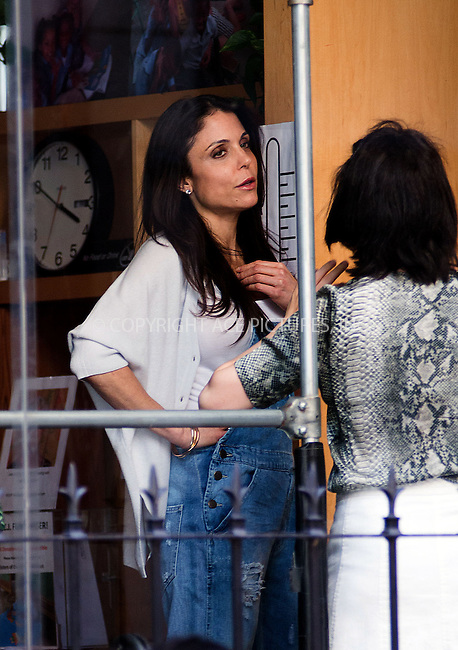 WWW.ACEPIXS.COM....May 17 2013, New York City....Bethenny Frankel picks up her daughter Bryn Hoppy from school on May 17 2013 in New York City......By Line: Curtis Means/ACE Pictures......ACE Pictures, Inc...tel: 646 769 0430..Email: info@acepixs.com..www.acepixs.com