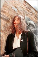 la cantante Patti Smith al museo Hermann Hesse di Montagnola, Lugano