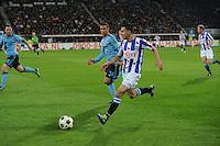 VOETBAL: HEERENVEEN: Abe Lenstra Stadion, 11-04-2012, SC Heerenveen - Ajax, Oussama Assaidi, Eindstand 0-5, ©foto Martin de Jong