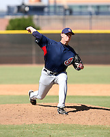 David Roberts / Cleveland Indians 2008 Instructional League..Photo by:  Bill Mitchell/Four Seam Images