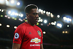 Anthony Martial of Manchester United during the Premier League match at Old Trafford, Manchester. Picture date: 1st December 2019. Picture credit should read: Phil Oldham/Sportimage