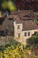 Europe/France/Midi-Pyrénées/46/Lot/Autoire: vieille demeure du village - Les Plus Beaux Villages de France