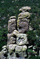 SOUTHWESTERN GEOLOGICAL FORMATIONS<br /> Rock Spires<br /> Chiricahua National Monument, AZ