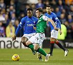 19.12.2018 Hibs v Rangers: Stevie Mallan and Lassana Coulibaly