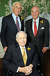 Clockwise from upper left: Honorees John Mendelsohn, Mike Stude and Tom Barrow at the Men of Distinction Luncheon at the River Oaks Country Club Wednesday May 05,2010.  (Dave Rossman Photo)