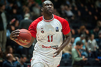 VALENCIA, SPAIN - NOVEMBER 18: Florent Pietrus during EUROCUP match between Valencia Basket Club and CAI SLUC Nancy at Fonteta Stadium on November 18, 2015 in Valencia, Spain