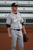 March 13, 2010:  Pitcher Danny Fawcett of the Akron Zips vs. the Yale Bulldogs in a game at Henley Field in Lakeland, FL.  Photo By Mike Janes/Four Seam Images