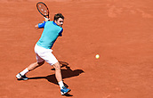 June 11th 2017, Roland Garros, paris, France; French Open tennis championship, mens singles final; Rafael Nadal versus Stan Wawrinka; Stan Wawrinka (sui)