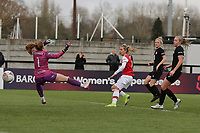 Jordan Nobbs of Arsenal scores the seventh goal for her team during Arsenal Women vs Bristol City Women, Barclays FA Women's Super League Football at Meadow Park on 1st December 2019
