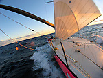 "Onboard an ex Volvo 60 (Djuice)""Get Away Sailing"" during the Audi Sydney Southport Yacht Race in 2007."
