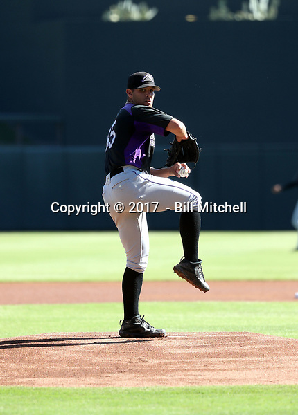 Nick Kennedy - 2017 AIL Rockies (Bill Mitchell)