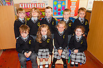 Junior infant from Scoil Mhuire, Brosna who started their school journey on September 1st.