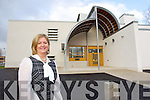 Anne O'Callaghan, Principal pictured outside the new extentsion at CBS the Green on Tuesday.