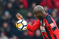 Benik Afobe of AFC Bournemouth during AFC Bournemouth vs Wigan Athletic, Emirates FA Cup Football at the Vitality Stadium on 6th January 2018