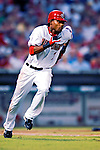 4 August 2007: Washington Nationals outfielder Nook Logan in action against the St. Louis Cardinals at RFK Stadium in Washington, DC. The Nationals defeated the Cardinals 12-1 in the second game of their 3-game series...Mandatory Photo Credit: Ed Wolfstein Photo