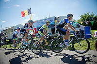 up the Côte de Rogna (7.6km/4.9%)<br /> <br /> 2014 Tour de France<br /> stage 11: Besançon - Oyonnax (187km)
