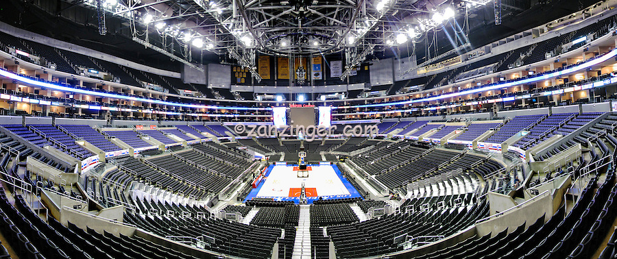 Staples Center, Lakers, Clippers,  Interior, Basketball, Sports Arena, Panorama