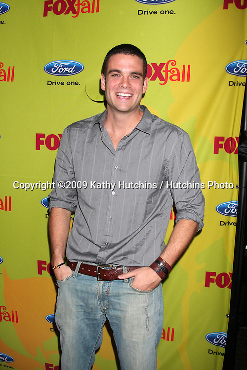 Mark Salling arriving at the FOX-Fall Eco-Casino Party at BOA Steakhouse  in West Los Angeles, CA on September 14, 2009.©2009 Kathy Hutchins / Hutchins Photo