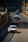 Tiago Monteiro races the FIA WTCC during the 61st Macau Grand Prix on November 16, 2014 at Macau street circuit in Macau, China. Photo by Aitor Alcalde / Power Sport Images